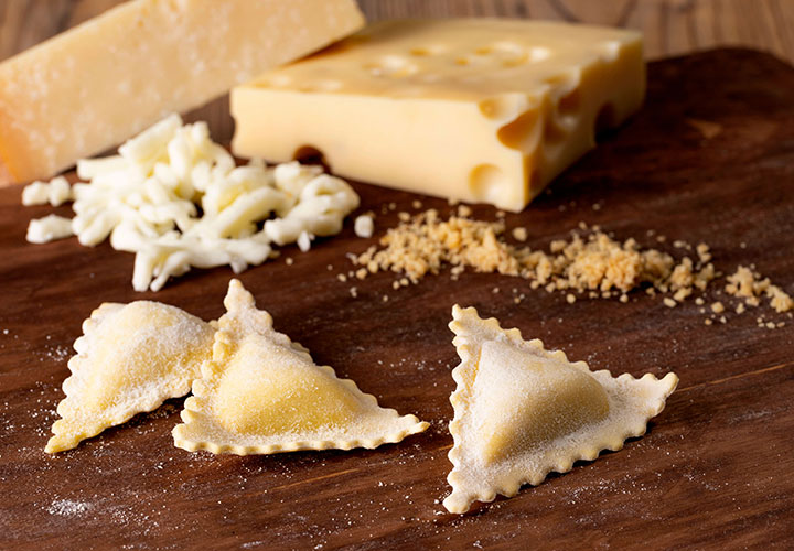 Panzerotti quattro formaggi