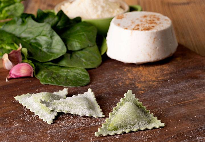 Panzerotti spinaci