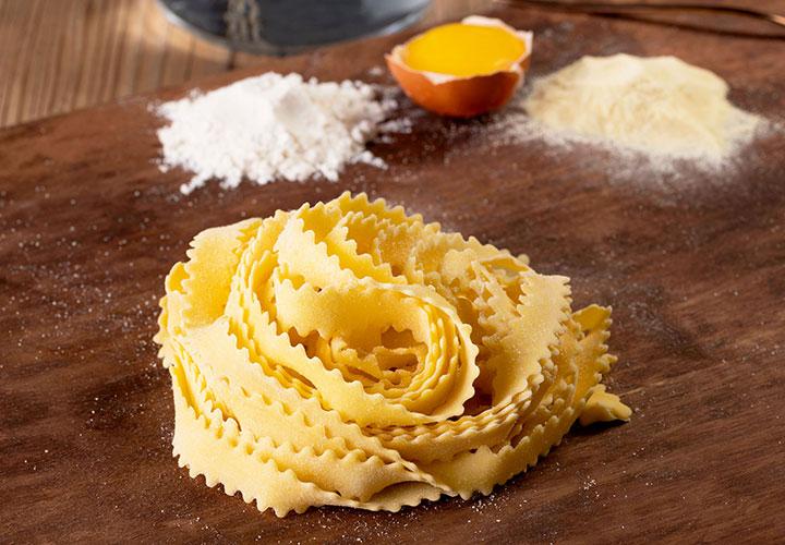Pasta fresca sin gluten