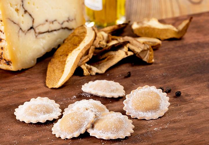 Medaglioni funghi porcini e tartufo